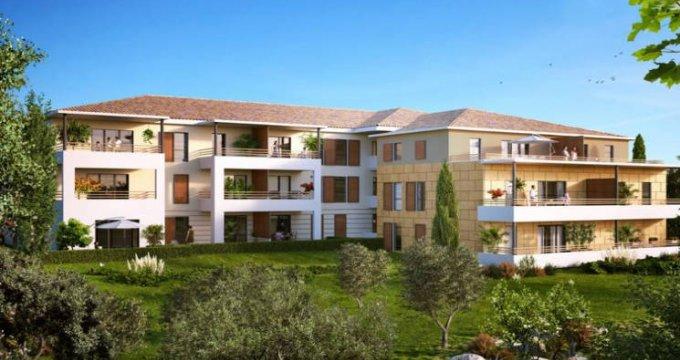 Achat / Vente appartement neuf Aix-en-Provence au cœur du secteur Saint-Mitre (13090) - Réf. 4405