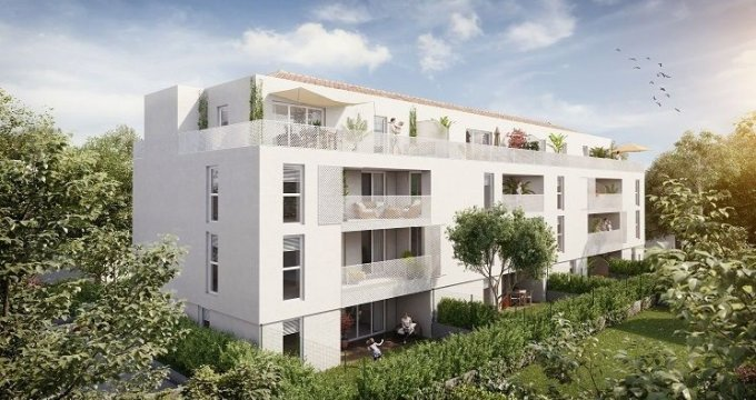 Achat / Vente appartement neuf Aix-en-Provence quartier des facultés (13090) - Réf. 869