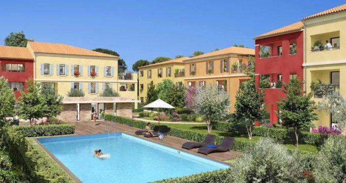 Achat / Vente appartement neuf Aix-la-Duranne quartier calme et résidentiel (13090) - Réf. 4284