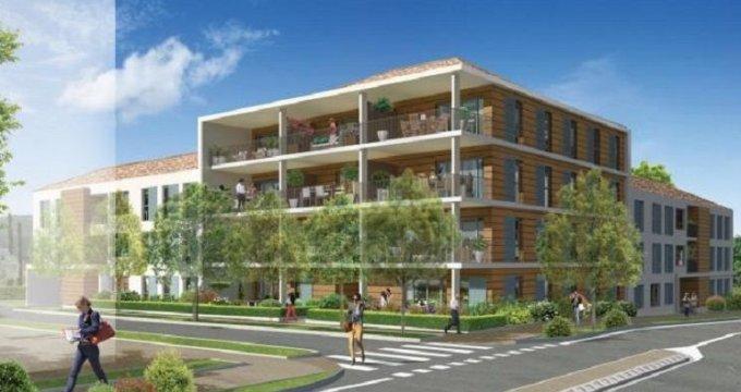 Achat / Vente appartement neuf Cuges-les-Pins 30 minutes de Marseille (13780) - Réf. 1238