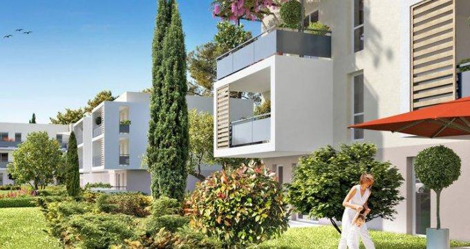 Achat / Vente appartement neuf Gignac-la-Nerthe quartier Figuerolles (13180) - Réf. 1050