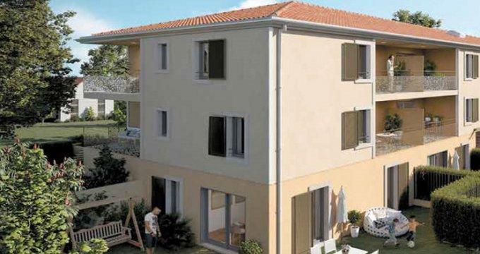 Achat / Vente appartement neuf Lambesc au cœur du village (13410) - Réf. 5049