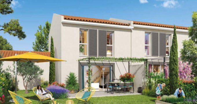 Achat / Vente appartement neuf Le Puy-Sainte-Réparade à 800 mètres du centre (13610) - Réf. 3456