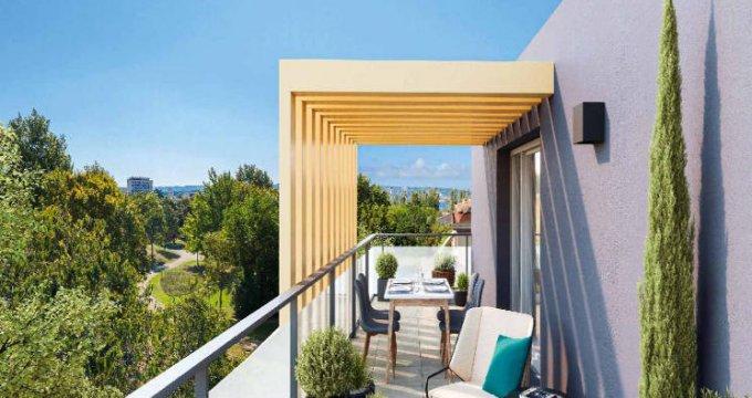 Achat / Vente appartement neuf Marignane, petite résidence en lisière du parc Ferrage (13700) - Réf. 5324