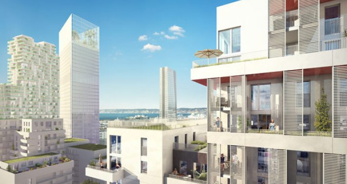 Achat / Vente appartement neuf Marseille 03 proche Vieux Port (13003) - Réf. 621