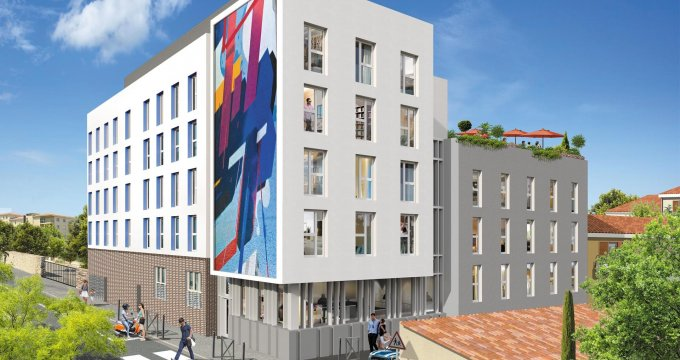 Achat / Vente appartement neuf Marseille 05 à quelques pas du centre hospitalo-universitaire de la Timone (13005) - Réf. 4043