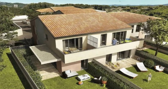 Achat / Vente appartement neuf Marseille 11 - secteurs des Trois-Lucs et Valentine (13011) - Réf. 4578