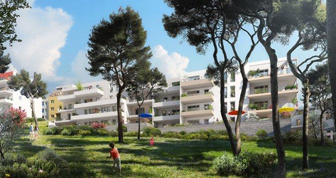 Achat / Vente appartement neuf Marseille 12 parc de La Mirabelle (13012) - Réf. 1017