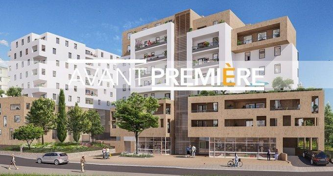 Achat / Vente appartement neuf Marseille 12 proche boulevard des Fauvettes (13012) - Réf. 3408