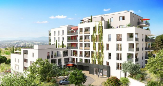 Achat / Vente appartement neuf Marseille 14 dans l'écoquartier des Hauts de Saint-Marthe (13014) - Réf. 1321