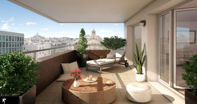 Achat / Vente appartement neuf Marseille 2 en face à la Cathédrale de la Major (13002) - Réf. 2335