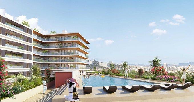 Achat / Vente appartement neuf Marseille 8 ème quartier de Bonneveine (13008) - Réf. 1481