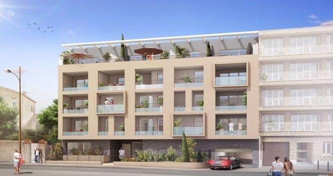 Achat / Vente appartement neuf Marseille 8 secteur prisé résidentiel (13008) - Réf. 817