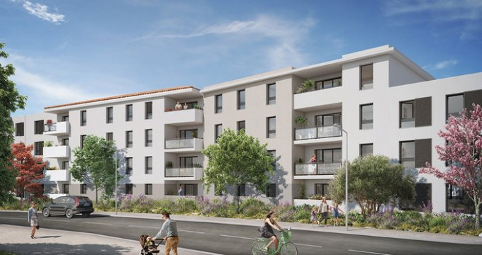 Achat / Vente appartement neuf Martigues à 450 mètres de la gare de Croix-Sainte (13500) - Réf. 3682