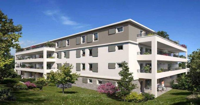 Achat / Vente appartement neuf Plan-de-Cuques petite résidence à 2 pas du centre (13380) - Réf. 5234