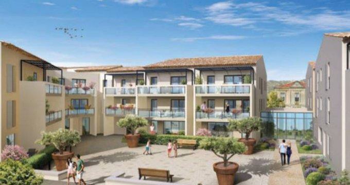 Achat / Vente appartement neuf Roquefort-la-Bédoule au coeur du centre (13830) - Réf. 5154