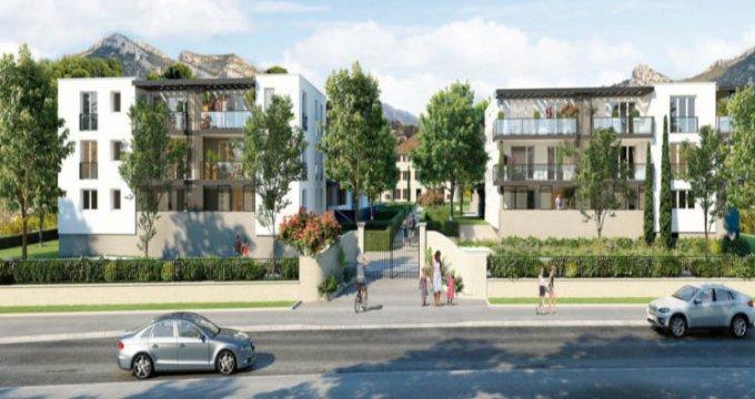 Achat / Vente appartement neuf Roquevaire secteur Saint-Roch (13360) - Réf. 2932