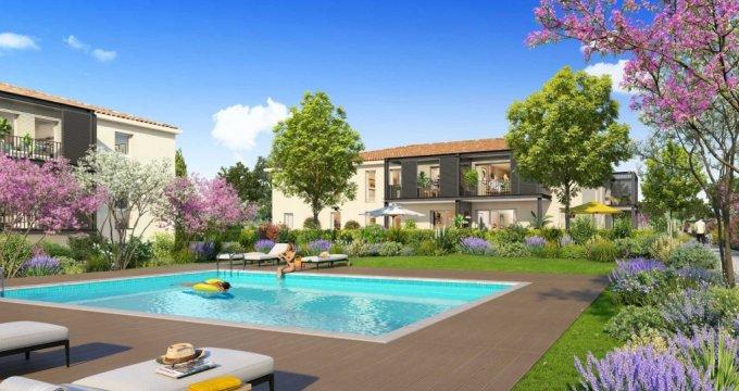 Achat / Vente appartement neuf Saint-Cannat à 500 mètres du coeur de ville (13760) - Réf. 4028