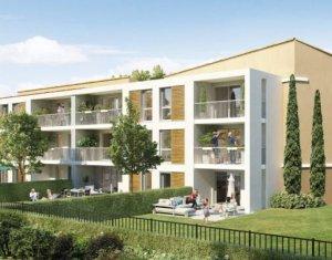 Achat / Vente appartement neuf Aix en Provence au pied de la Sainte-Victoire (13090) - Réf. 3038