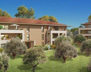 Achat / Vente appartement neuf Aix-en-Provence au sein d'un environnement résidentiel et verdoyant (13090) - Réf. 4018