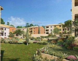 Achat / Vente appartement neuf Aix-La Duranne proche école et commerces (13090) - Réf. 4278