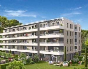Achat / Vente appartement neuf Marseille 9 secteur Mazargues calme -TVA 5,5% (13009) - Réf. 4747
