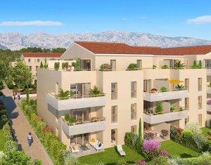 Achat / Vente appartement neuf Rousset au pied de la Sainte-Victoire (13790) - Réf. 493