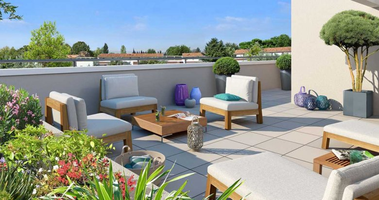 Achat / Vente appartement neuf Aix-en-Provence à 10 minutes du centre-ville (13090) - Réf. 1596