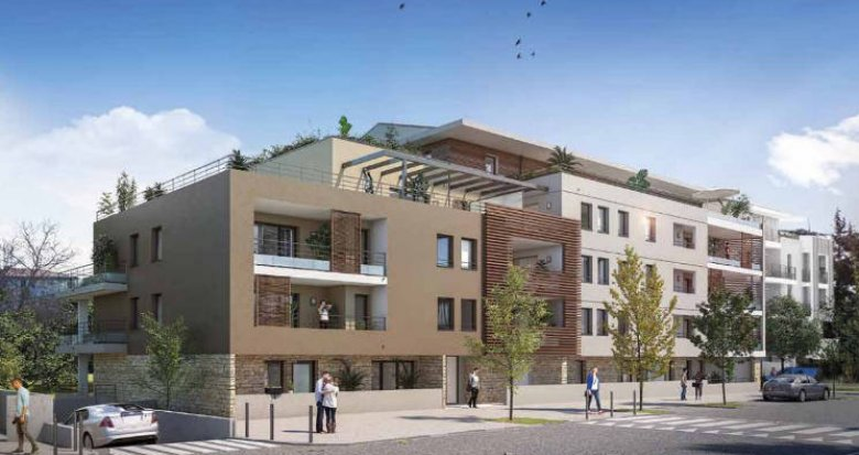 Achat / Vente appartement neuf Aix-en-Provence à 2 km du cœur de ville (13090) - Réf. 4468