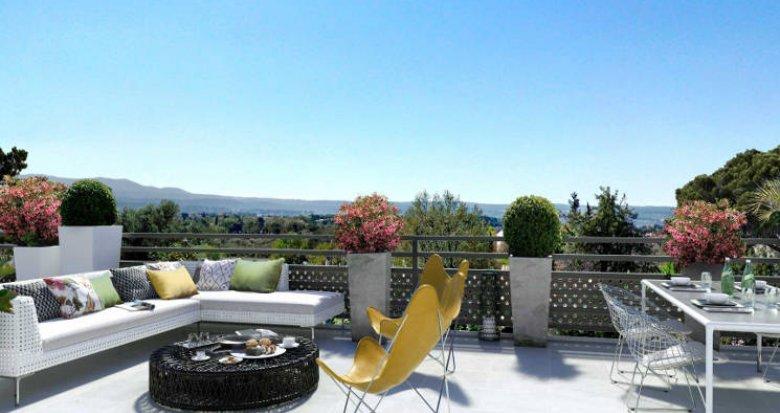Achat / Vente appartement neuf Aix-en-Provence à 3 km du centre (13090) - Réf. 4438