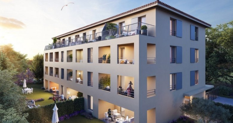 Achat / Vente appartement neuf Aix-en -Provence à 700 m du Cours Mirabeau (13090) - Réf. 5083