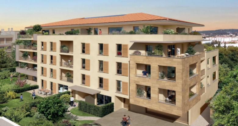 Achat / Vente appartement neuf Aix-en-Provence à moins de 5min de la gare (13090) - Réf. 5472