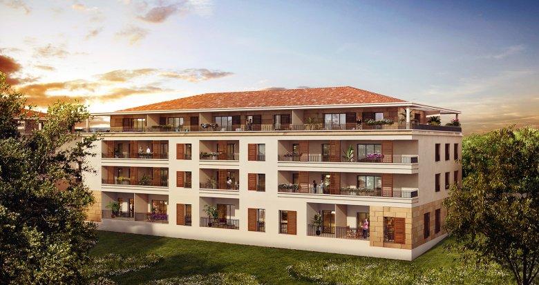 Achat / Vente appartement neuf Aix-en-Provence Pont des Trois Sautets (13090) - Réf. 3034