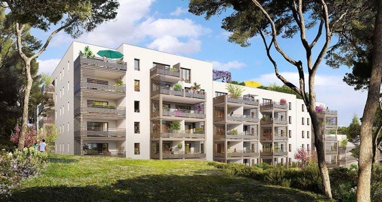 Achat / Vente appartement neuf Aix-en-Provence proche gare TGV (13090) - Réf. 2602