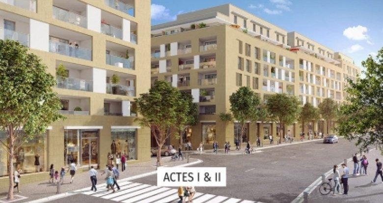Achat / Vente appartement neuf Aix-en-Provence proche Les Allées Provençales (13090) - Réf. 3528