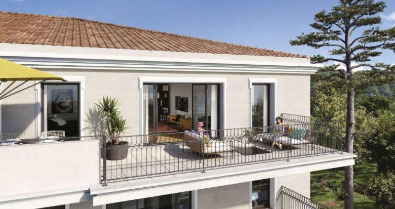Achat / Vente appartement neuf Aix-en-Provence proche parc Rambot (13090) - Réf. 5898