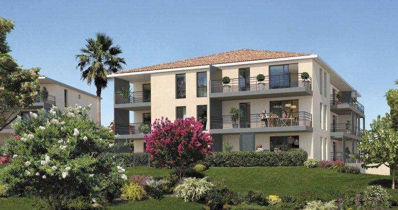 Achat / Vente appartement neuf Aix-en-Provence proche Parc Saint-Mitre (13090) - Réf. 314