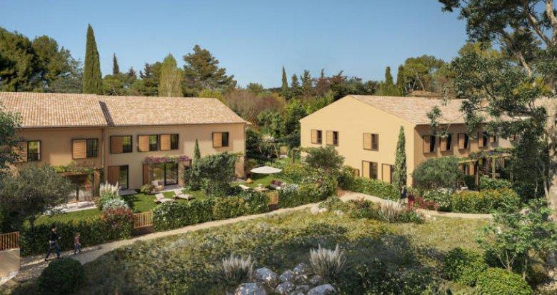 Achat / Vente appartement neuf Aix-en-Provence quartier calme de Luynes (13090) - Réf. 5913