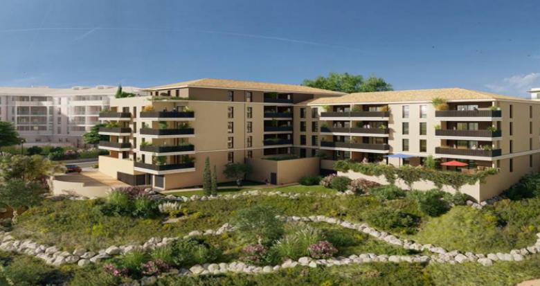 Achat / Vente appartement neuf Aix-en-Provence quartier de la Duranne (13090) - Réf. 5521