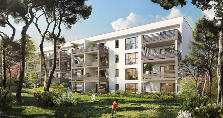 Achat / Vente appartement neuf Aix-en-Provence quartier du Pont de l'Arc (13090) - Réf. 857
