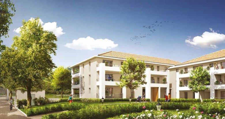 Achat / Vente appartement neuf Aix-en-Provence quartier Luynes proche village (13090) - Réf. 955