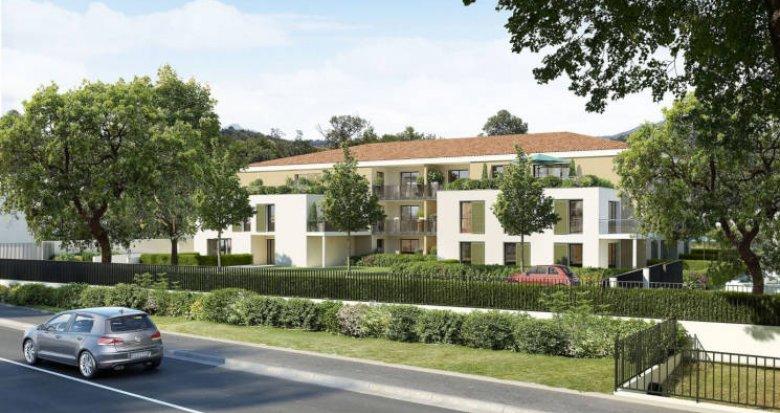"""Achat / Vente appartement neuf Aix-en-Provence secteur """"Jardins de Bibémus"""" (13090) - Réf. 3039"""
