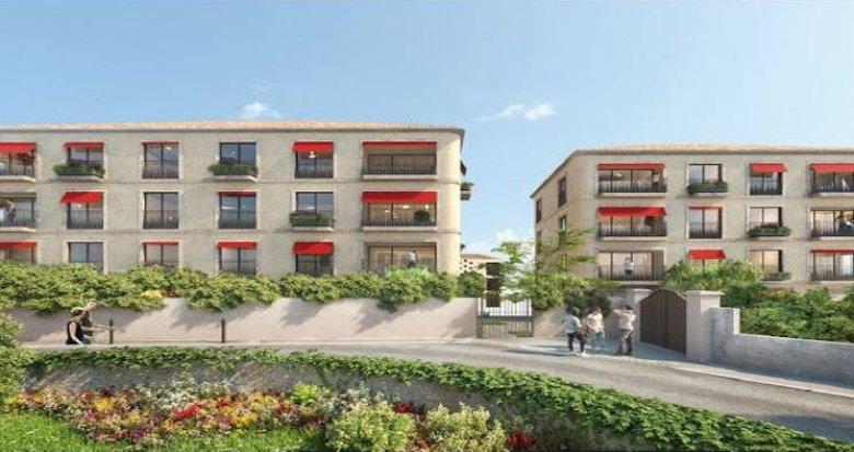 Achat / Vente appartement neuf Aix-en-Provence secteur Pigonnet (13090) - Réf. 4426