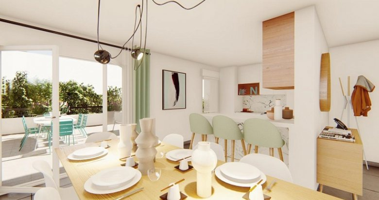 Achat / Vente appartement neuf Aix-en-Provence vue Sainte-Victoire (13090) - Réf. 4887