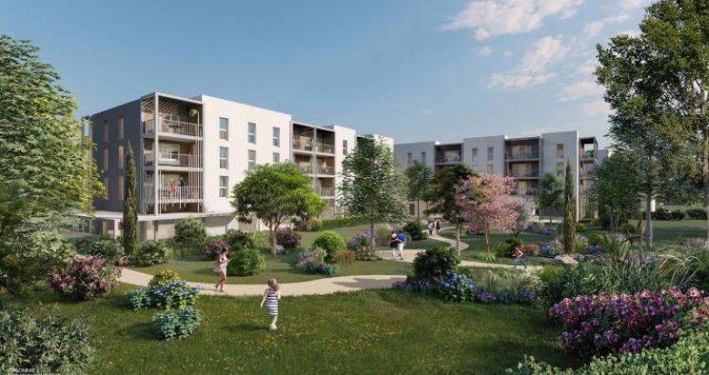 Achat / Vente appartement neuf Arles avec vues sur canal (13200) - Réf. 5770