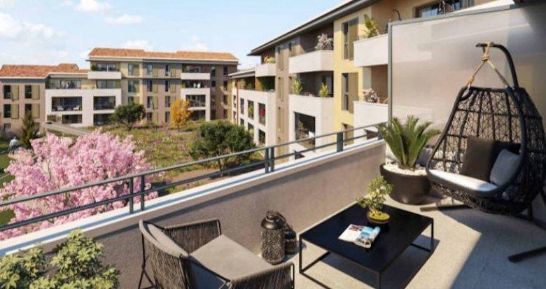 Achat / Vente appartement neuf Auriol proche centre et accès routiers (13390) - Réf. 4851