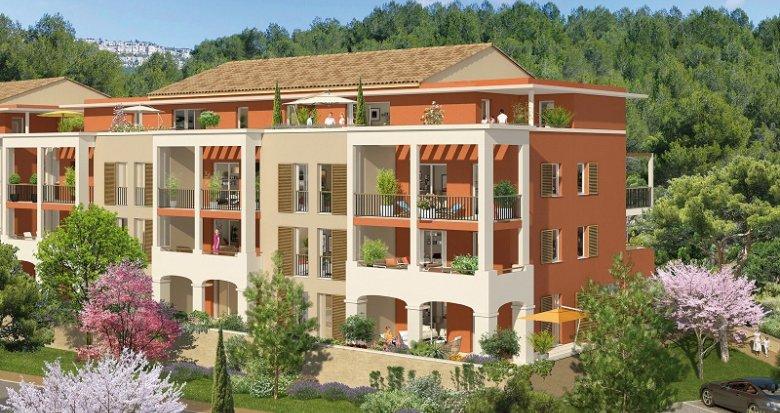 Achat / Vente appartement neuf Châteauneuf-le-Rouge centre-bourg (13790) - Réf. 405