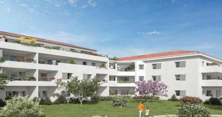 Achat / Vente appartement neuf Cuges-Les-Pins proche nouveau quartier des Vigneaux (13780) - Réf. 3451