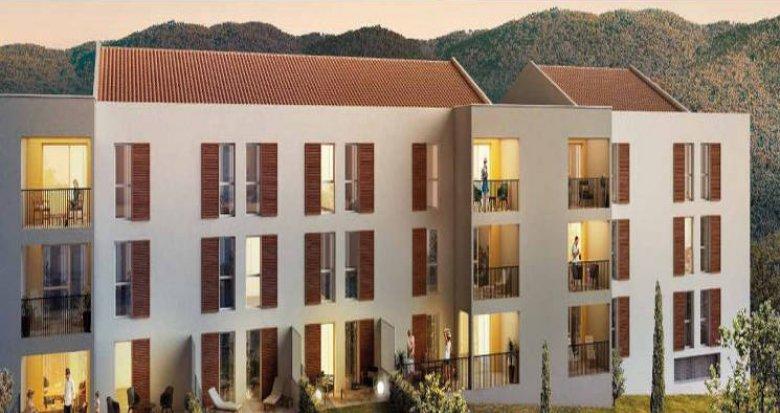 Achat / Vente appartement neuf Cuges-Les-Pins proche parc de loisirs (13780) - Réf. 3821