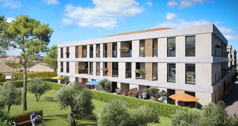 Achat / Vente appartement neuf Eyguières au coeur des Alpilles (13430) - Réf. 551